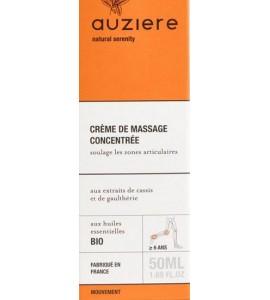 Auziere massage cream