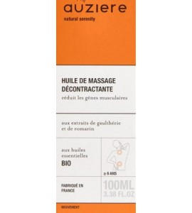 Auziere relieving massage oil