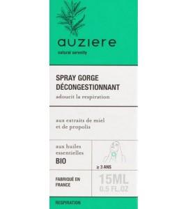 Auziere throat spray